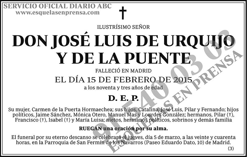 José Luis de Urguijo y de la Puente